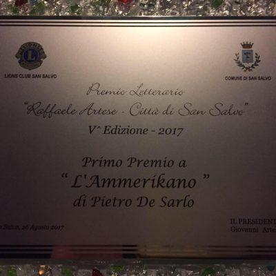 Premio San Salvo Artese 2017