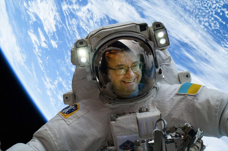 Barbero Astronauta