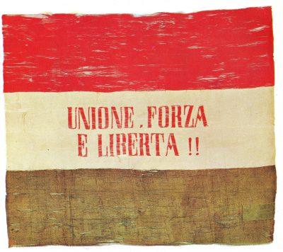 bandiera della giovane italia
